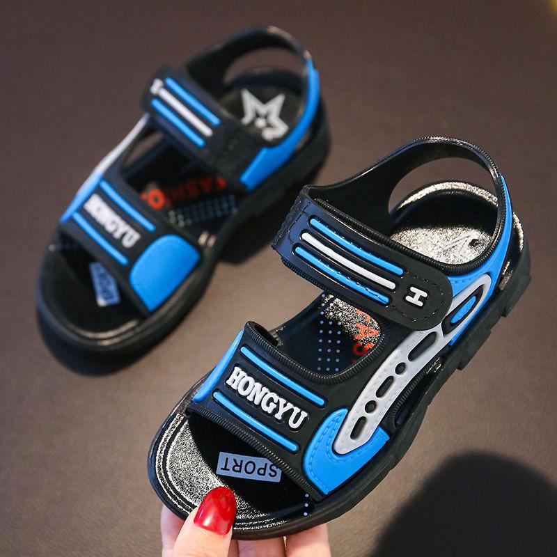 2020新款男童凉鞋中大童软底韩版夏季防滑沙滩鞋儿童学生男童鞋子