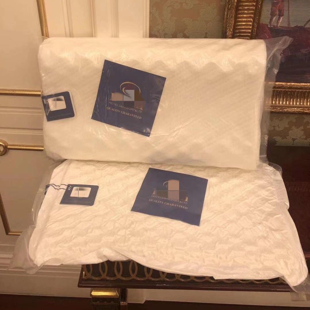 希尔顿记忆枕芯枕头保健记忆枕泰国进口抱枕软枕头酒店专用狼牙款