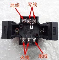03接线dsg油研型液压阀-02电磁换向阀接线盒端子