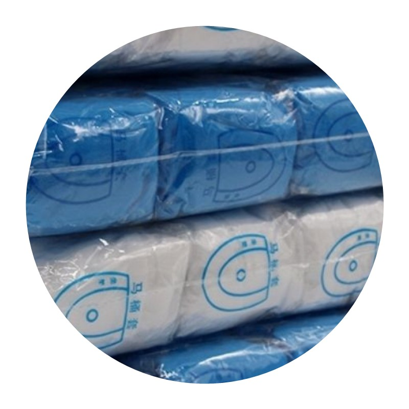 Toilet pad disposable winter thick cushion paper 100 pieces of disposable thickening high-quality non-woven fabric.