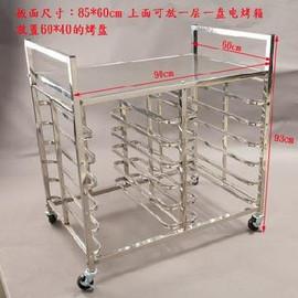 快餐店烤箱托盘架定制层架烤架烘焙面包架子展示架小型15层可定做图片