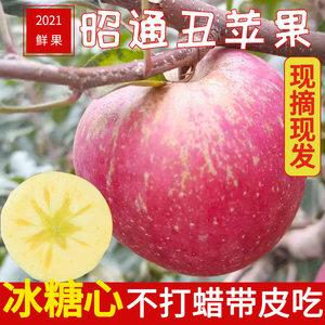 云南昭通冰糖心丑苹果非红富士新鲜高山当季水果整箱孕妇水果包邮