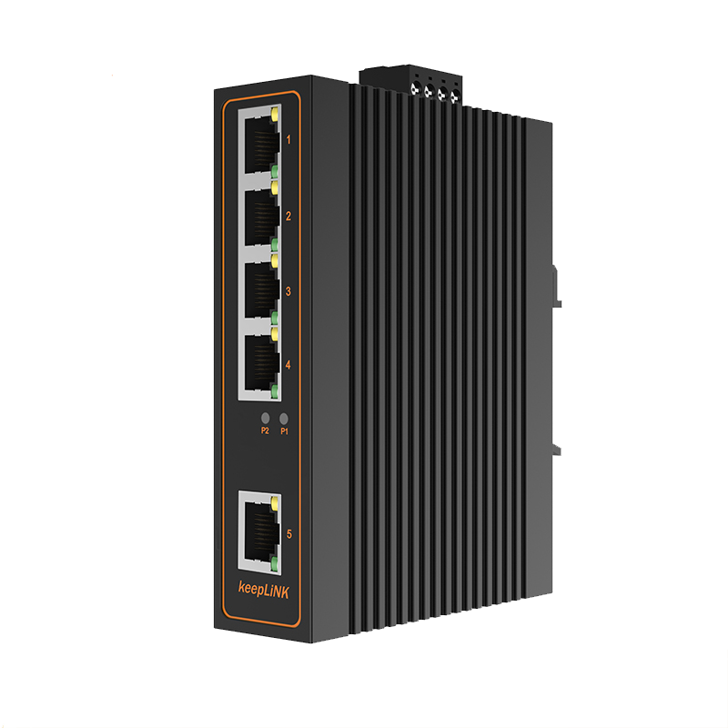 Keeplink, 5 ports, 8 ports, 16 ports, 24 ports, 100 trillion Gigabit industrial switch, Ethernet network monitoring, LAN line, hub conversion distributor, dormitory, enterprise rail Poe switch