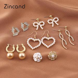 zd韩版原创设计s925银针金属女耳环