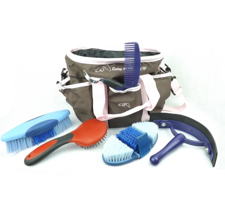 Horse harness and equestrian supplies export horse care and cleaning kit