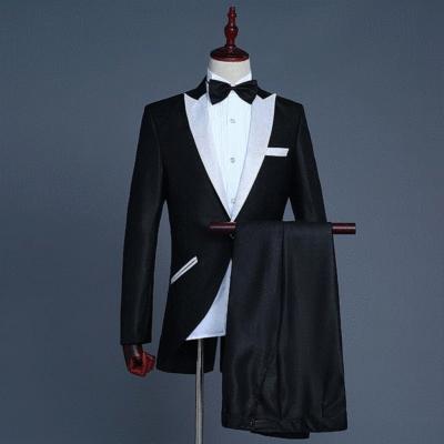 New mens dress little Tuxedo Suit magic show conductors dress bel canto singers performance suit Jazz suit