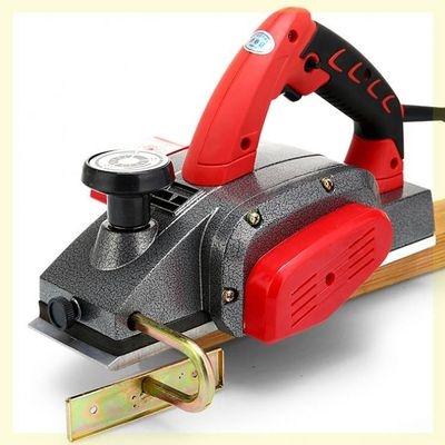 平面集尘木工电报压刨机台刨刨木机手刨新款刨板机工具手电木,。