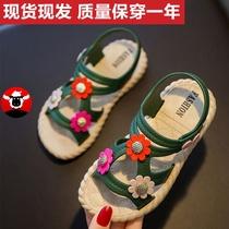 女童凉鞋2020夏季宝宝防滑软底小公主家用小孩小童儿童小学生凉鞋