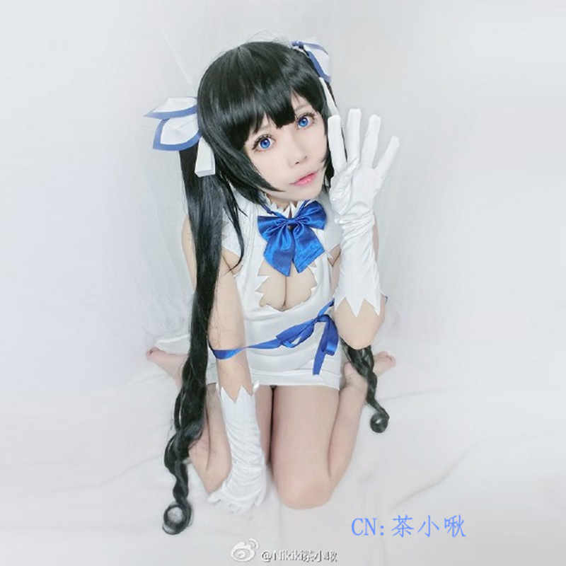 Whats wrong with the new mcoser anime wig in the dungeons / Hestia cos