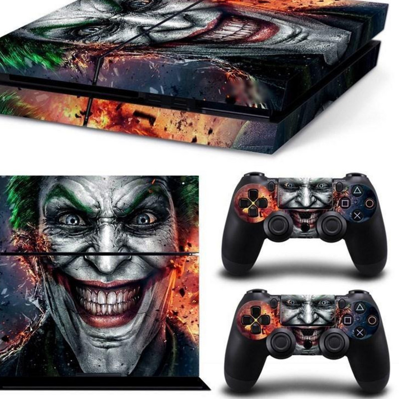 play station 4 console vinyl decal skin cover - ps4 remote c