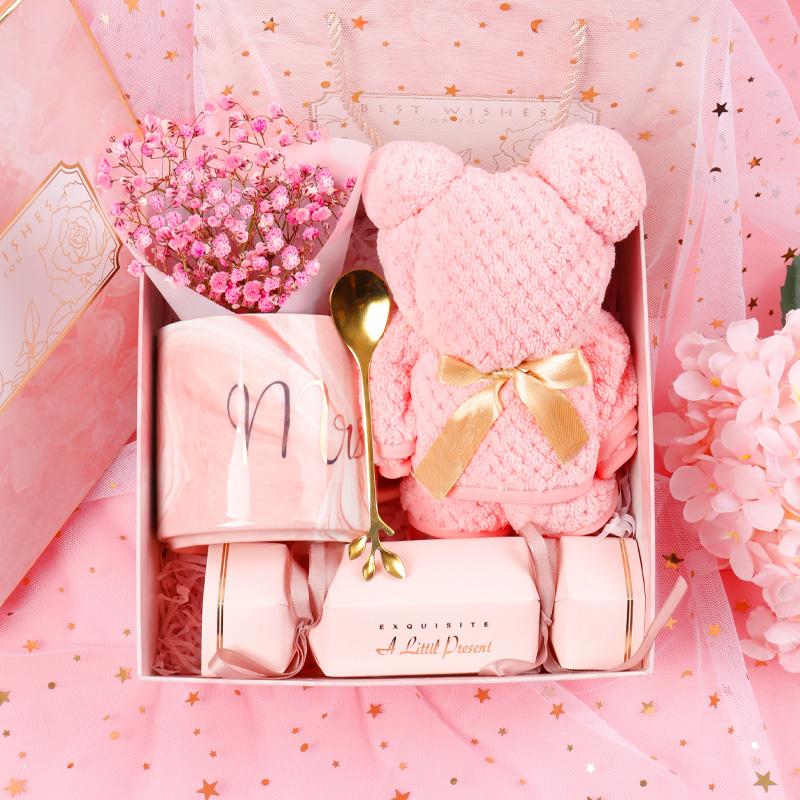 伴手礼女伴娘结婚高端伴郎实用生日满月新婚庆回礼盒母亲节小礼品