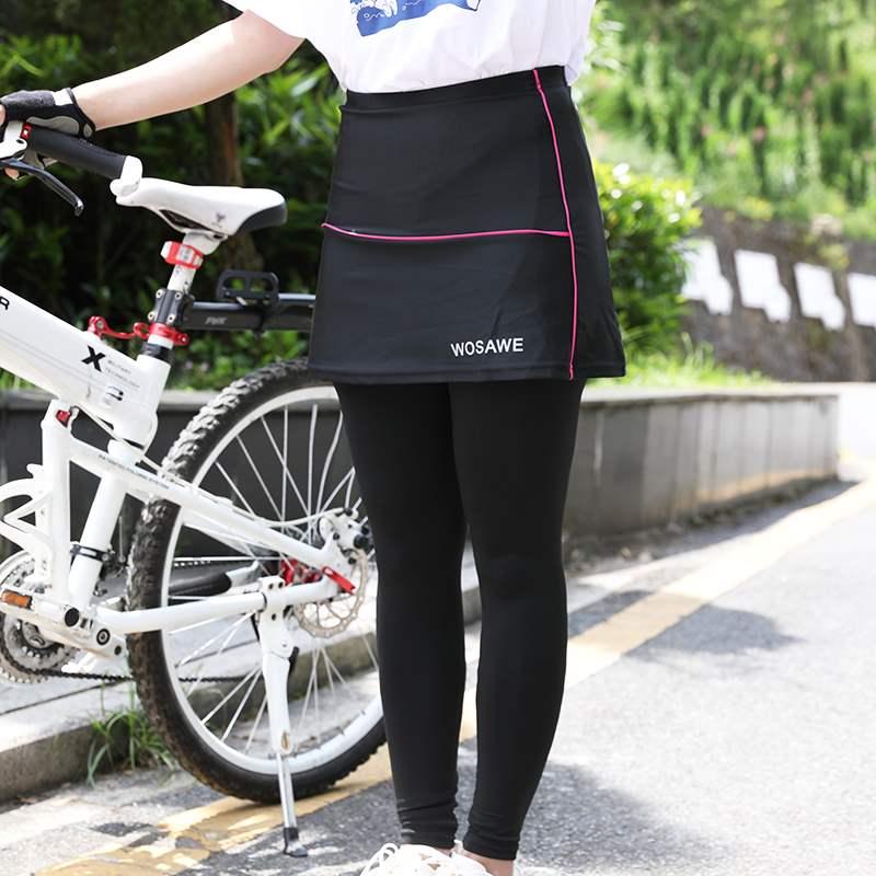 正品沃萨维春夏骑行裤女山地自行车服硅胶坐垫修身显瘦速干运动裤