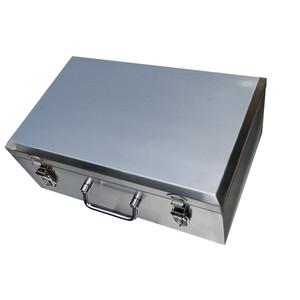 不锈钢工具箱304加厚型带轮子大号手提式五金工具盒收纳箱维修