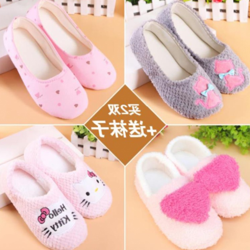 Make spring shoes, moon size regular shoes and entertain women in autumn. Household shoes with puffy and thickened slippers