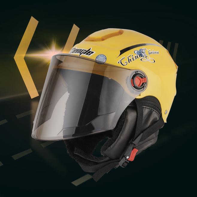 电动车安全头盔电瓶车男孩通用秋冬季防晒半盔哈雷摩托车女安全帽