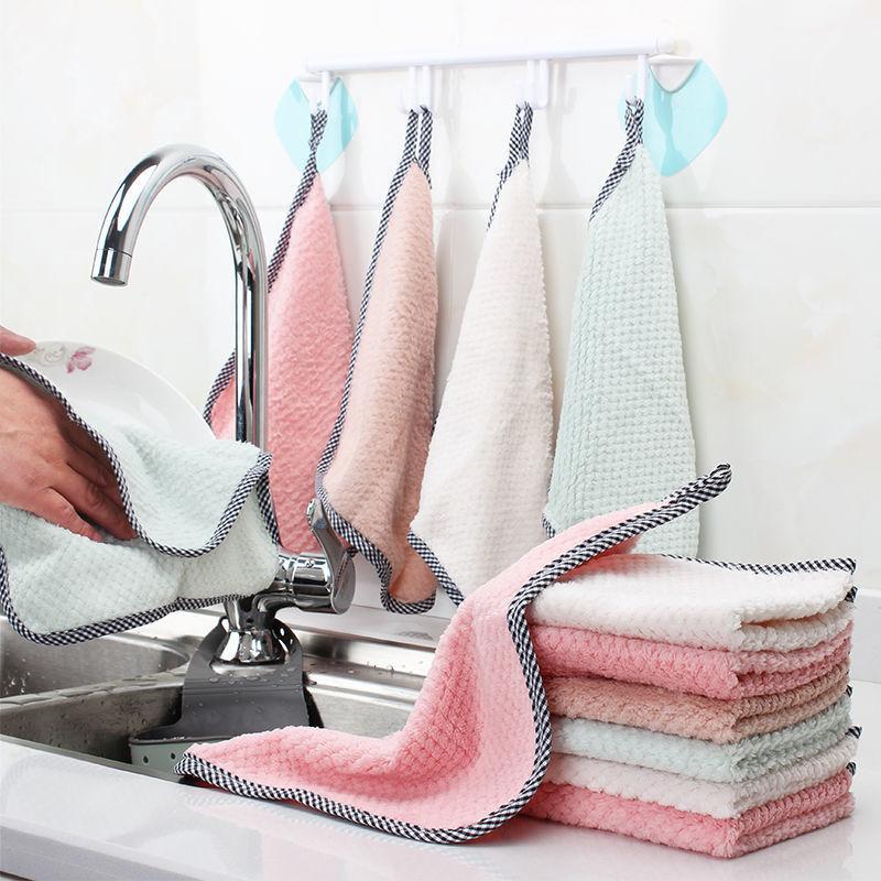 抹布吸水不掉毛去油洗碗布广告毛巾礼品毛巾