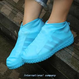 1 PaiR ReuSabLe SiLiCone Shoe CoveR S/M/L WateRPRoof Rain Sh图片