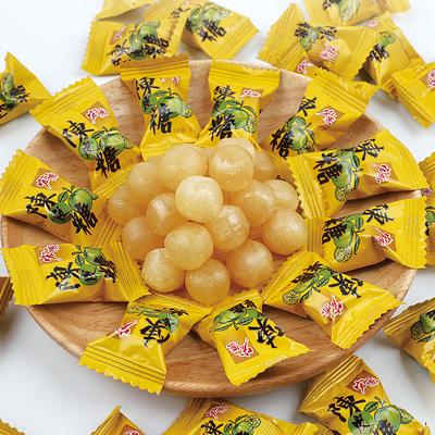 宏源陈皮糖5斤装原装正品白桃话梅水果硬糖散装喜糖新年糖果零食