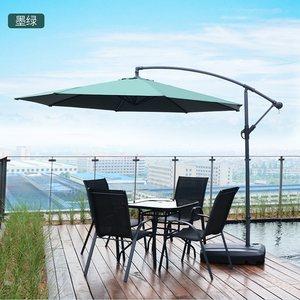 户外遮阳伞庭院伞大伞摆摊伞防紫外线室外棚阳台保安罗马伞太阳伞