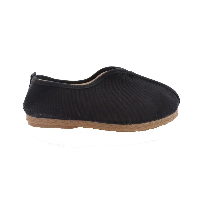 大理纯色棉麻亚麻僧鞋休闲鞋一脚蹬牛筋底透气民族风情侣布鞋优质