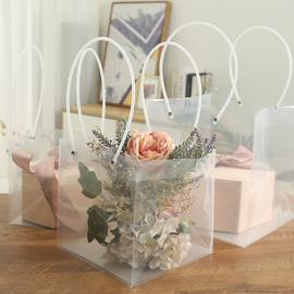 透明礼品袋婚庆回礼伴手礼袋超大pvc礼物包装袋子礼盒包装袋礼袋