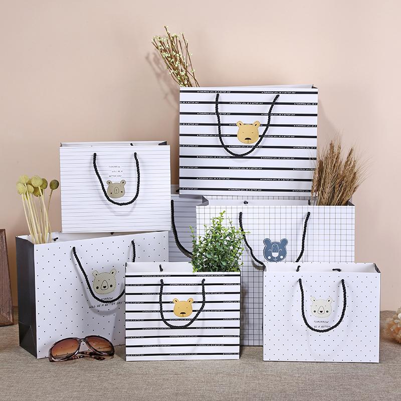 卡通礼品袋 大号礼物包装袋子生日回礼袋儿童节手提袋纸袋礼物袋