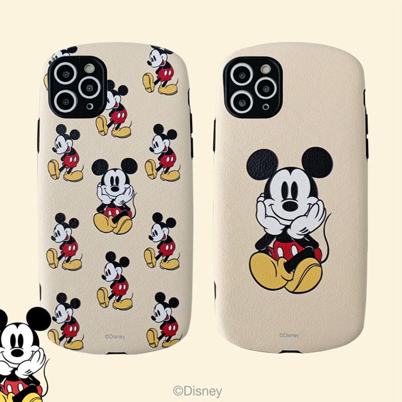 迪士尼卡通米奇适用iPhone11苹果max手机壳xs可爱xr女7p正品8p软7
