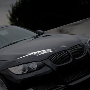 创意字母痕车刮凹陷贴画汽车个性挡风玻璃贴纸后贴遮挡外面装饰车