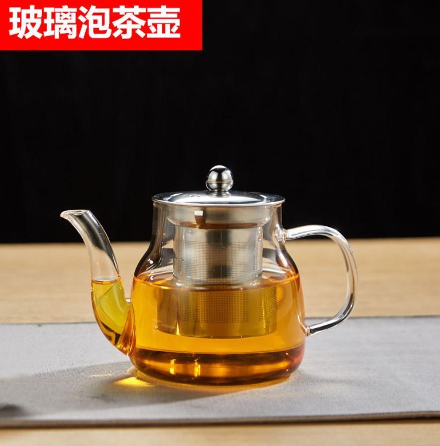 上水抽水水壶专用配件玻璃水壶盖子泡茶壶烧煮茶壶管底部电热水壶