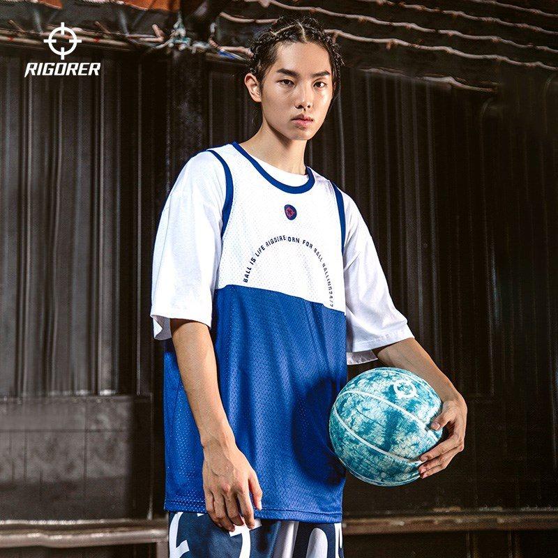 Sports vest mens student quick dry basketball short sleeve casual training loose shoulder oversized sleeveless T-shirt