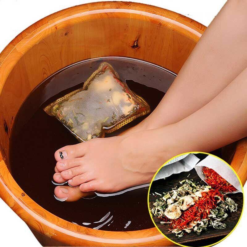 【藏红花+老姜+艾叶+益母草】驱寒祛湿助眠泡脚药包足浴包