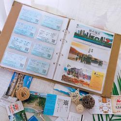 相册情侣浪漫创意卡片儿童做相册男女商务毕业生小型票珍藏相片集