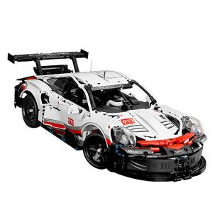 樂高積木保時捷911布加迪跑汽車模型男孩子成年人高難度拼裝玩具