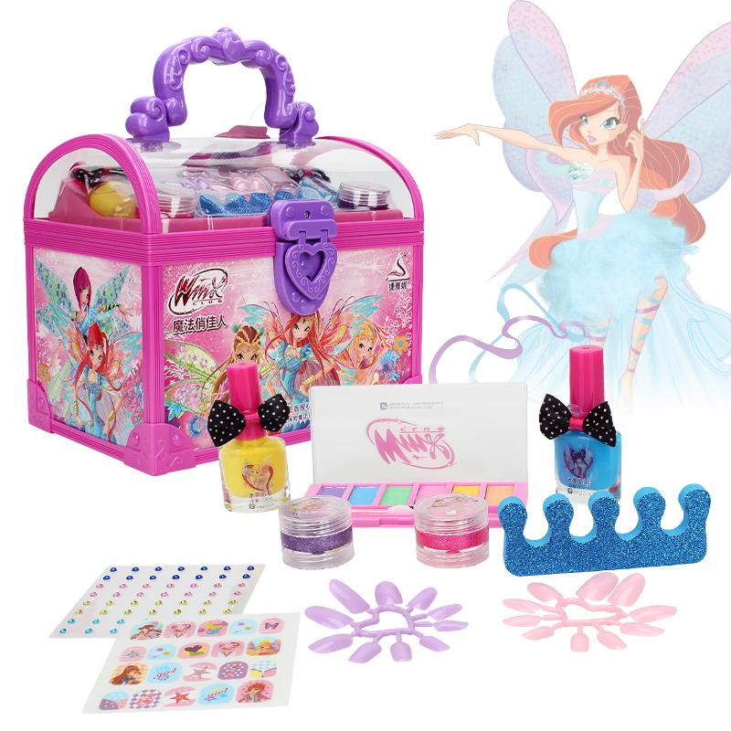 。魔法梦幻儿童彩妆玩具小公主女孩化妆手提箱套装化妆品俏佳人