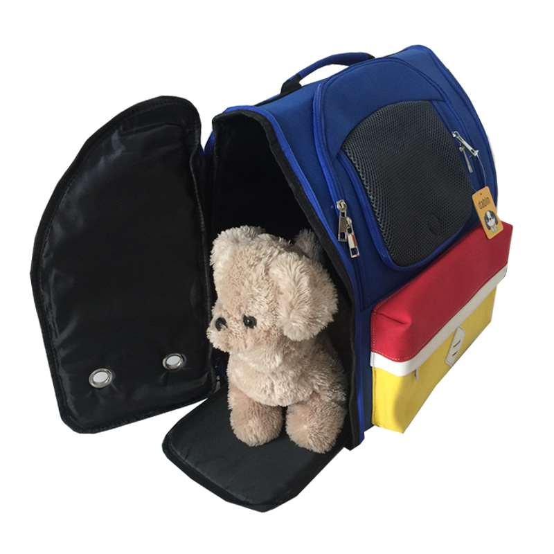 Dog Backpack pet going out bag cat bag dog bag going out bag Teddy backpack portable small and medium sized dog pet bag
