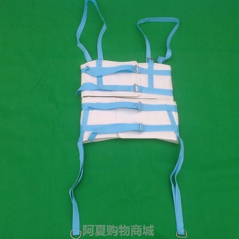 。椎牵引带家用护腰腰椎带牵引器拉伸脊椎骨节突出个人护理固定带