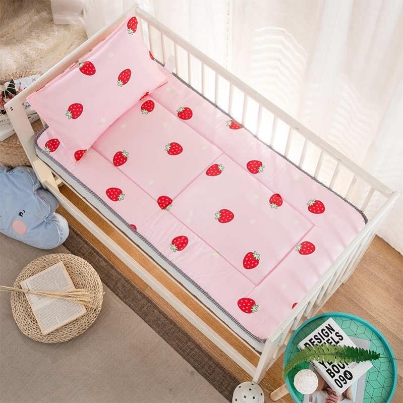 60x150拼接床床席梦思床加床围褥子全棉软垫保护垫婴儿儿童床垫