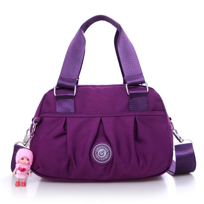 中國代購 中國批發-ibuy99 女士包 休闲潮尼龙牛津帆布包布包女包手提包新款单肩斜跨女士包包斜挎。