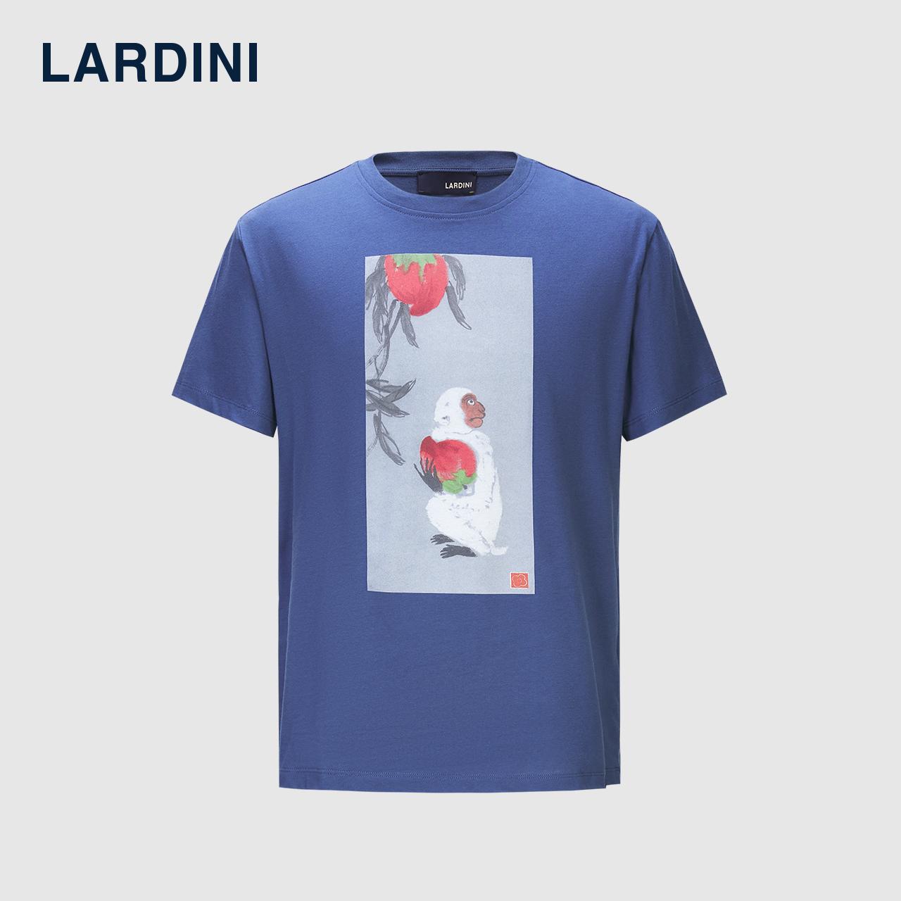 LARDINI意大利进口 印花图案T恤