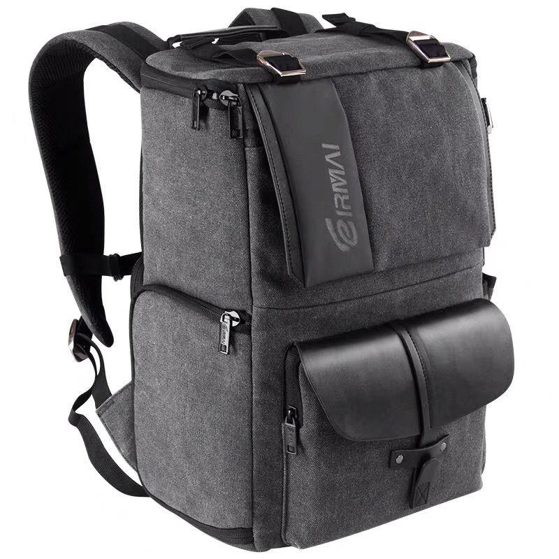 专业佳能尼康双肩摄影背包户外旅行单反相机双肩包防水防盗大容量