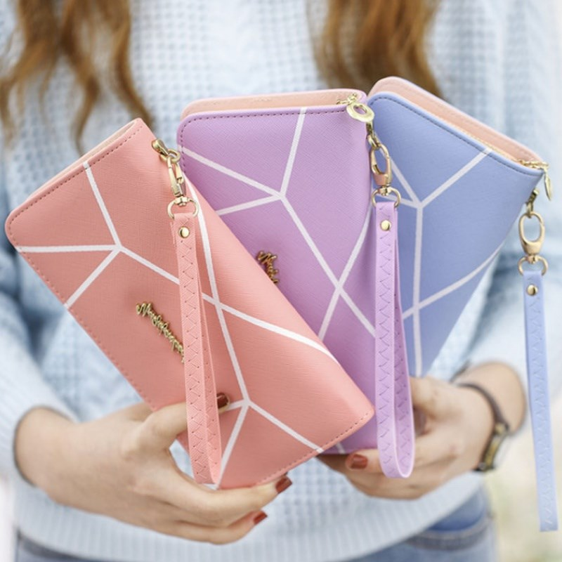 [newly upgraded cabinet] womens purse long zipper womens purse long wallet wallet womens purse holding bag