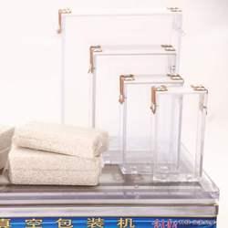 大米真空机米砖模具 小米杂粮模具  一体成型加厚亚克力大米模具