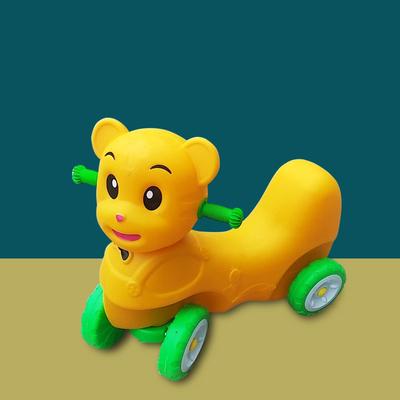 双人协力车多人助步车比赛车幼儿园儿童可转弯团队协作户外玩具车