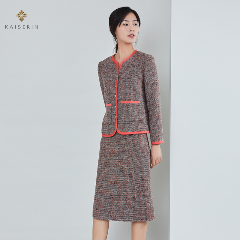 Kaiserin Kaiqi Boutique Dress autumn 2020 new womens two piece fashion coat slim career