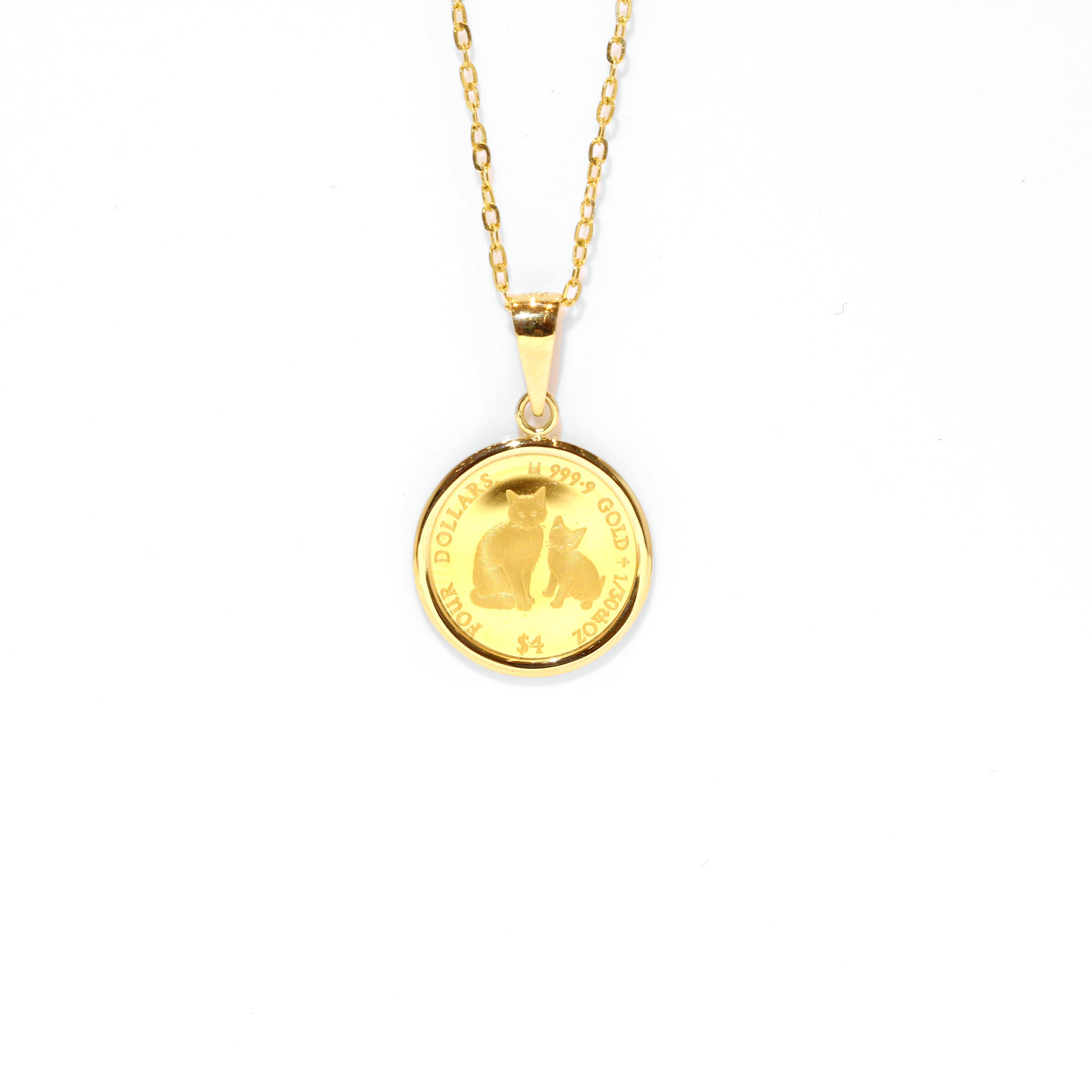 光の宝石24 k金カナダの金貨は3 D硬金のアクセサリーにぶら下がって彼女の娘に贈り物を送ります。