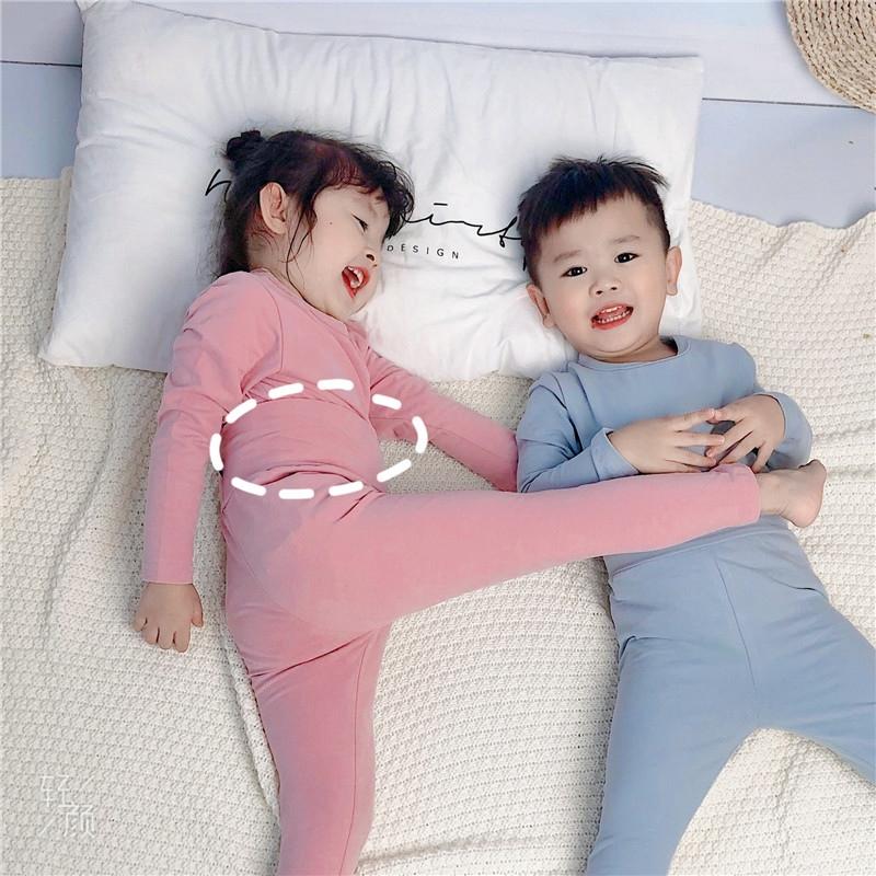 儿童磨毛睡衣女童童装新款卡通婴儿连体衣亲子青少年爬服家居动物