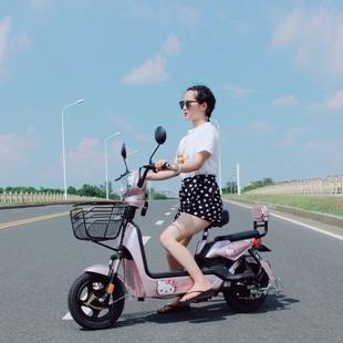助力车 新国标电单车电动自行车电瓶车代步车小型踏板车电车新款