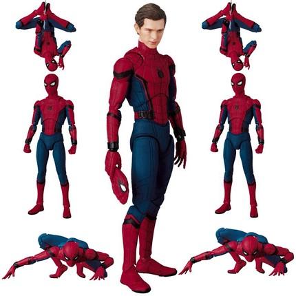 超凡蜘蛛手办侠3复仇者4联盟钢铁可动人偶摆件英雄远征玩具礼物