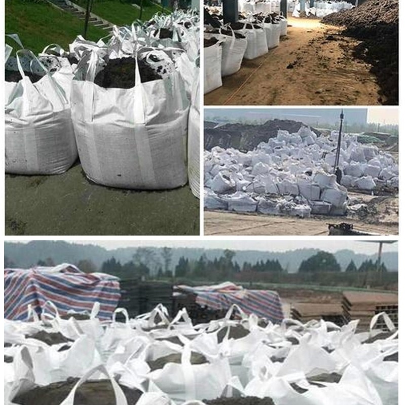 Ton bag sling ton bag one ton environmental protection industrial hanging bag garbage sand 1 ton extra thick large capacity decoration container bag