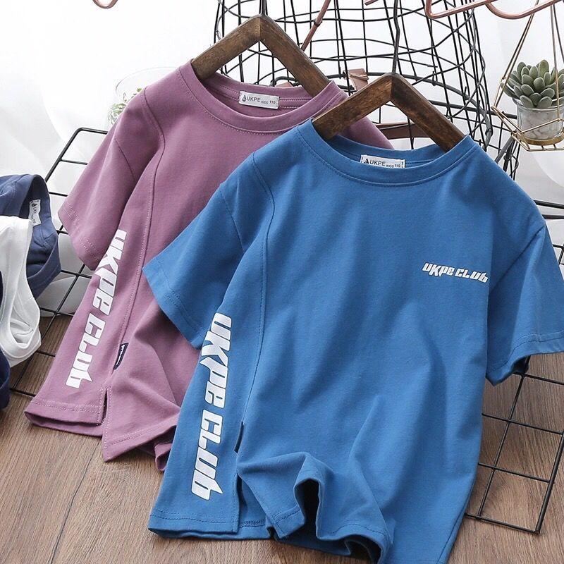 男女童棉T恤圆领半袖衫儿童休闲短袖上衣中大童洋气体恤夏季新款